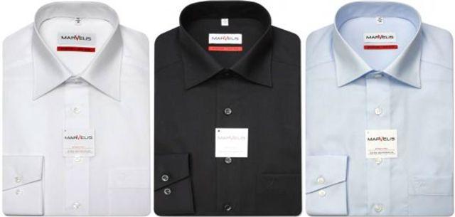 strijkvrije marvelis overhemden